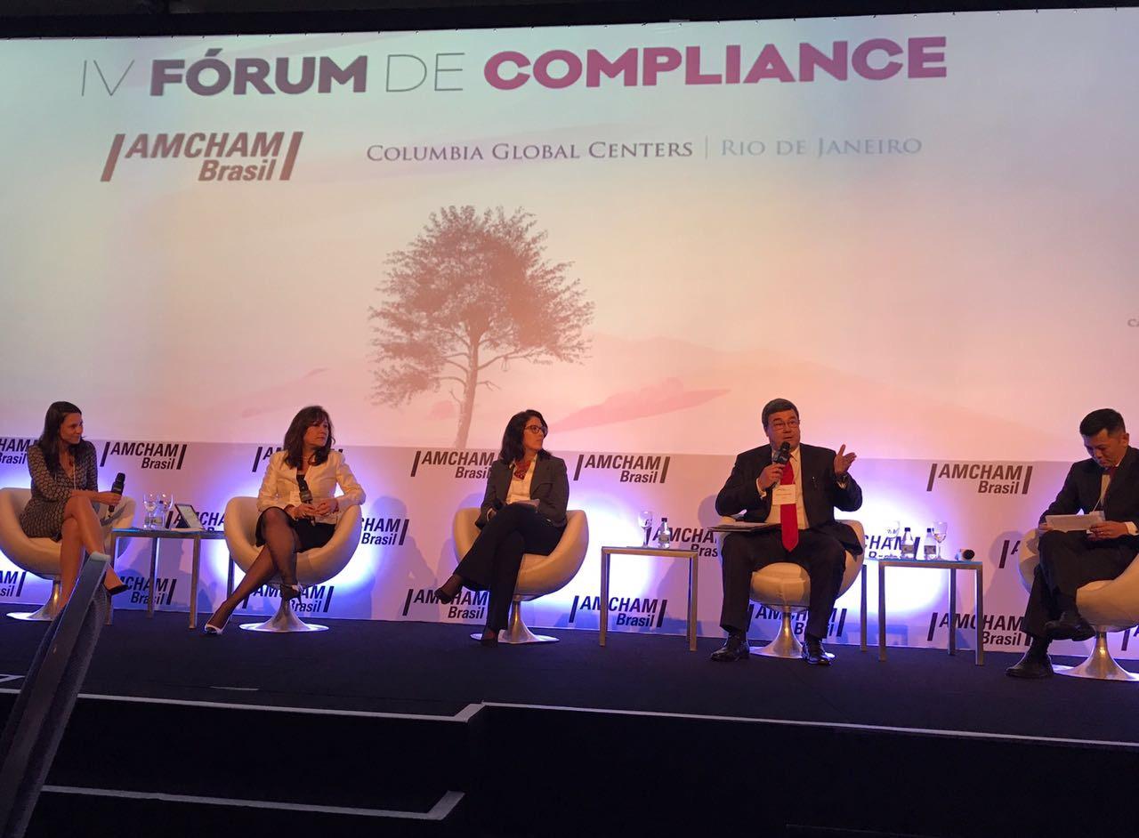 GRC participa do IV Fórum de Compliance na AMCHAM de São Paulo